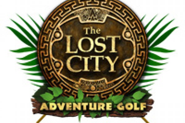 The Lost City Adventure Golf is cool!