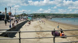 Beaches in Swanage Kids