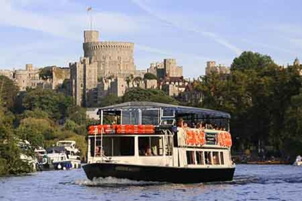 Child friendly scenic boat trips Windsor, Berkshire