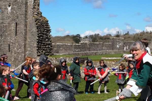Castles in Pembrokeshire