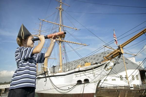Family Fun at Chatham Historic Shipyard