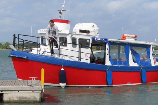 Have a great day out with your kids around Itchenor Harbour