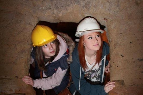 Underground caves Nottingham