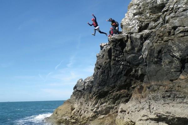 Celtic Quest Coasteering, Pembrokeshire