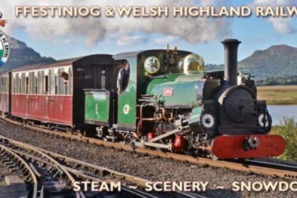 Ffestiniog Railway Harbour Station