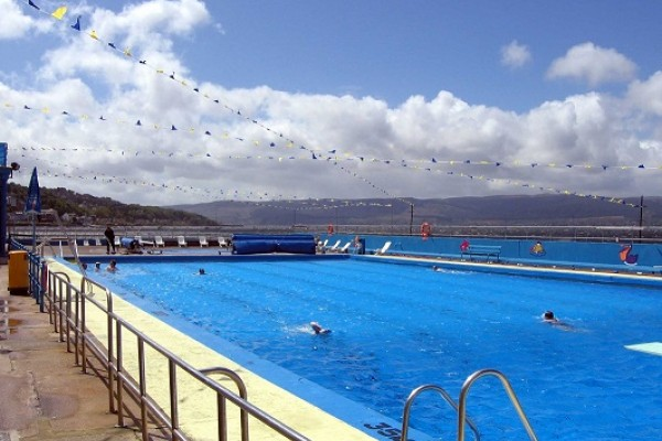 Outdoor Swimming Fun Gourock
