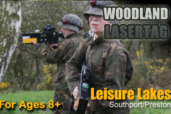 Outdoor Woodland Lasertag - Preston