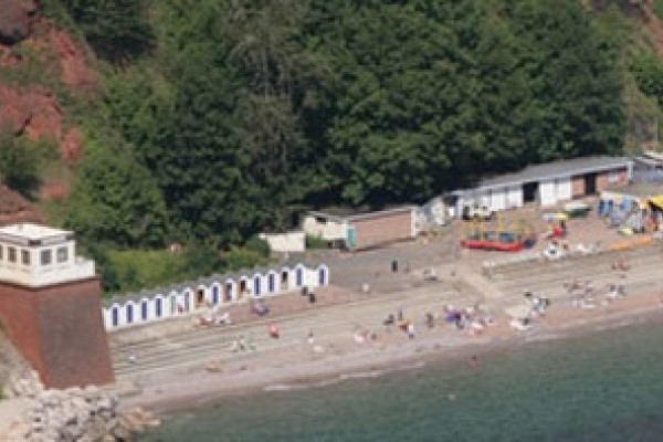 Oddicombe Beach near Torquay Devon