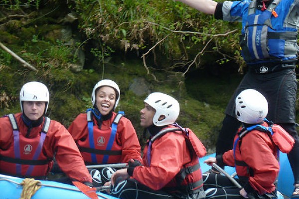 Fun guided Kayaking and White Water Rafting Nottingham