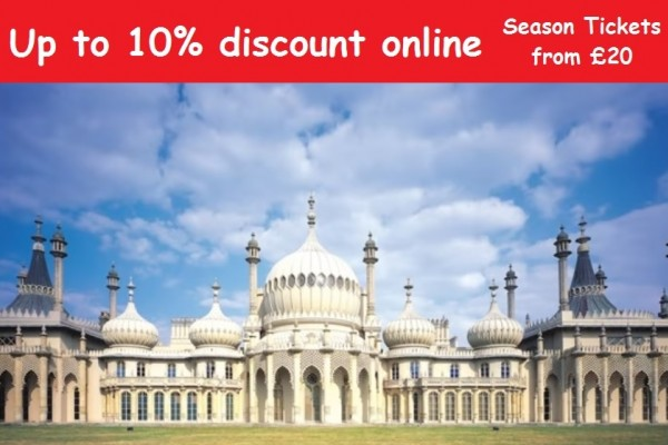 Royal Pavillion Brighton discounts
