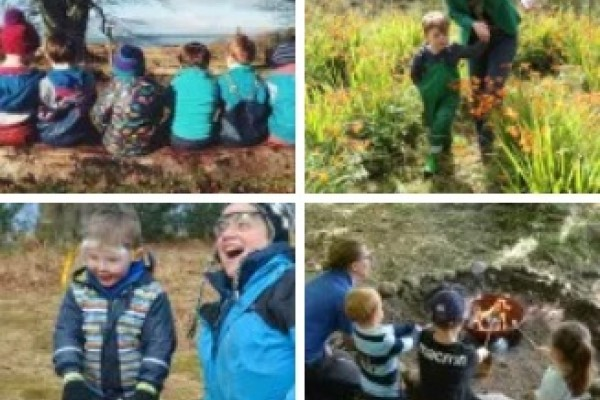 Kids enjoying outdoor activities in Argyllshire