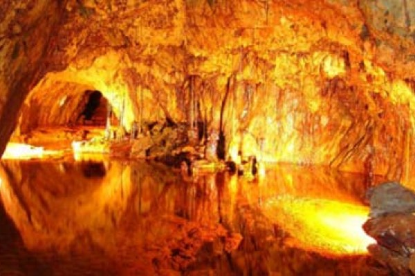 Explore caves and mines in Wales