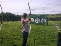 Archery is just one of our activities