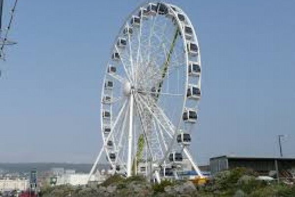 The whole family will enjoy the views from the top of Weston Wheel