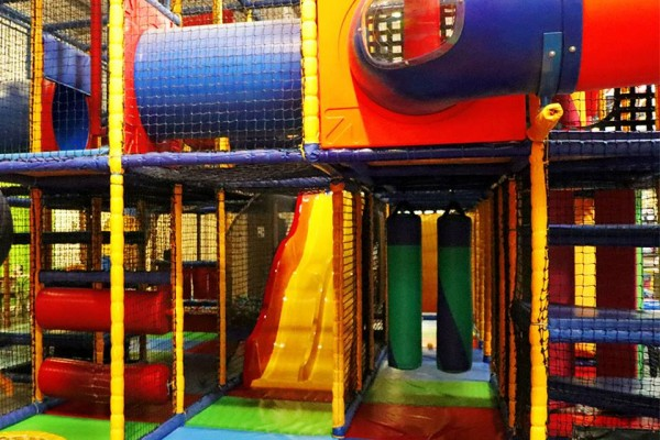 Soft play fun in Glasgow