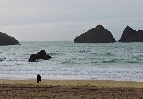 Holywell Bay Beach nea...